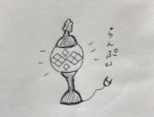 トルコモザイクランプ